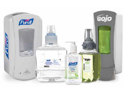 image of GOJO & Purell Dispensers and refills